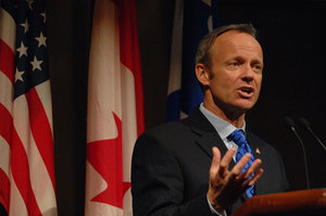 Minister Stockwell Day - Quebec City Conference