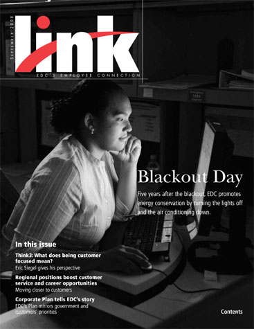 EDC's Employee Connection Magazine 'Link', Fall 2008