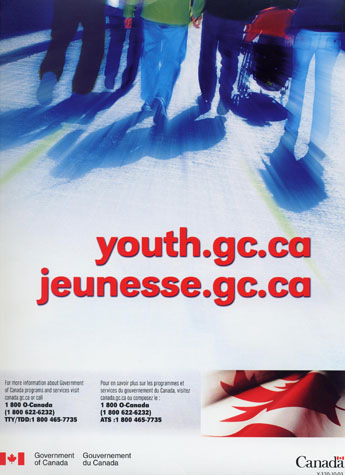 Government of Canada, Poster 'youth.gc.ca'