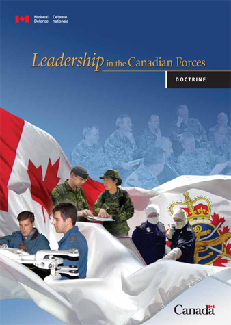 DND, Publication 'Leadership In The Canadian Forces'