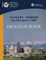 Credit Union of Canada, 2007 World Conference